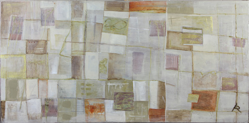 <h1>algae in color</h1>seaweed/oil/plaster on canvas | 160 x 77