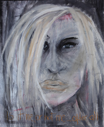 <h1>Is it me or Donatella?</h1>Öl auf Leinwand | 140 x 115