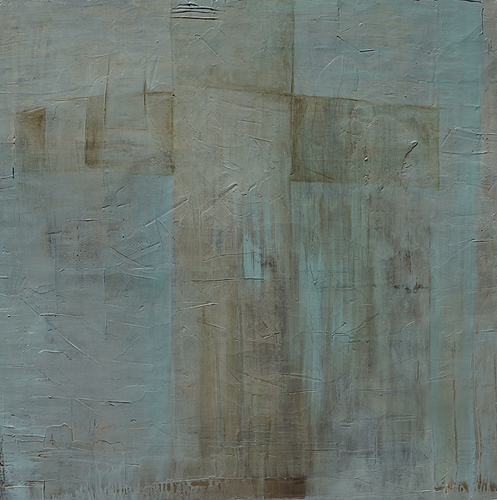 <h1>cross</h1>oil on plaster/canvas | 110 x 110